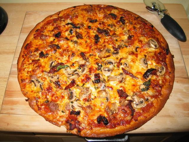 пицца с фото своими руками
